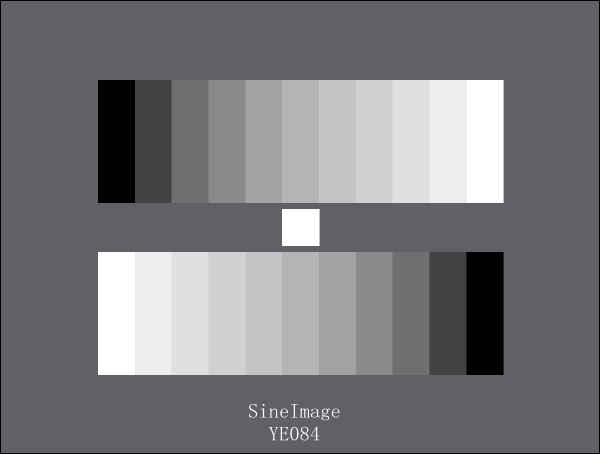 Iso 12233 Resolution Test Chart Sineimage Test Charts