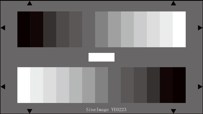 HDTV灰度测试图卡反射式